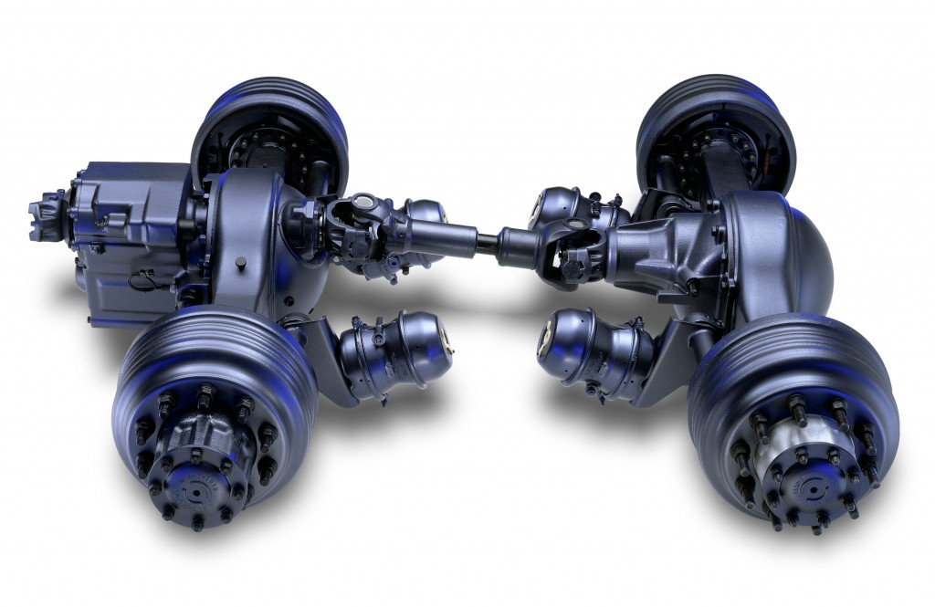 complete Rear axle assembly